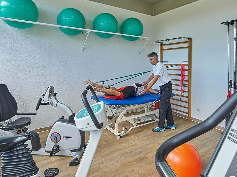 Physiotherapie Bad Füssing | Krankengymnastik am Gerät