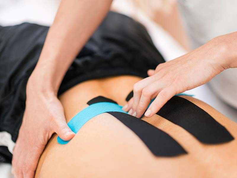 Physiotherapie Bad Füssing | Kinesiotape