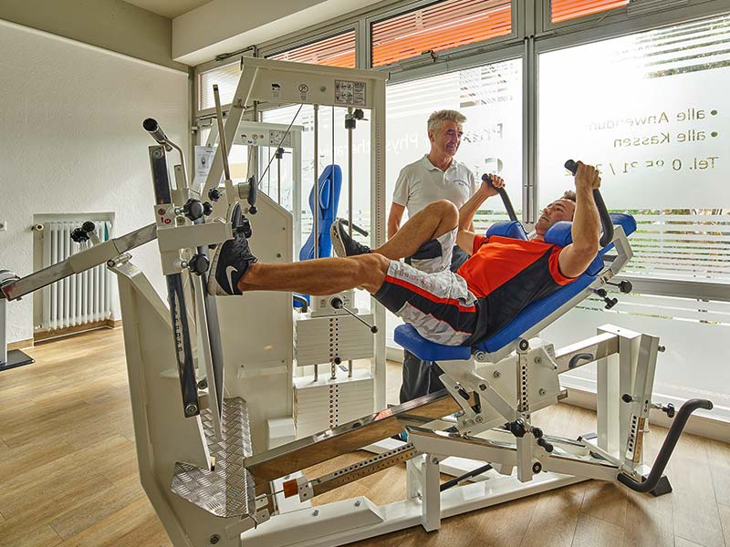 Physiotherapie Bad Füssing | Fitnessraum