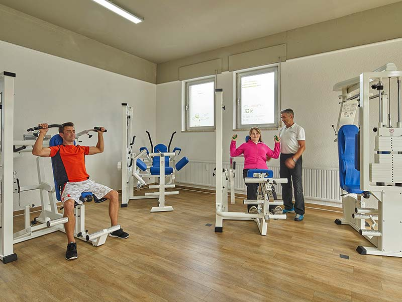 Physiotherapie Bad Füssing | KG Raum
